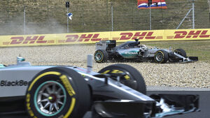 Mercedes - GP Ungarn 2015