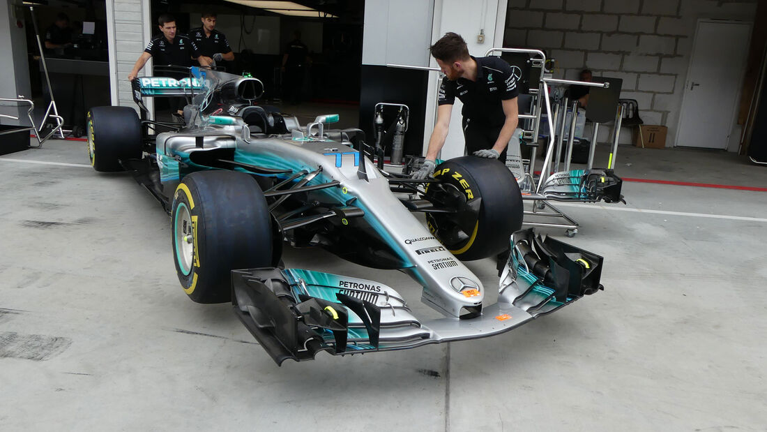 Mercedes - GP Ungarn 2017 - Budapest - Formel 1 - Donnerstag - 27.7.2017
