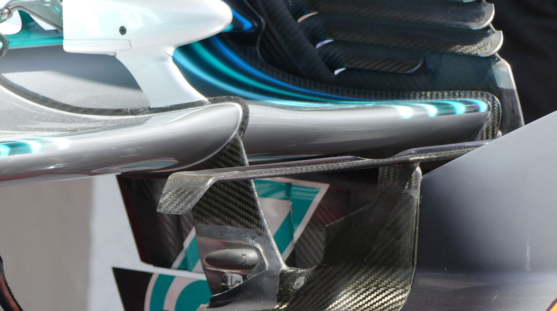 Mercedes - GP Ungarn 2018 - Technik-Updates