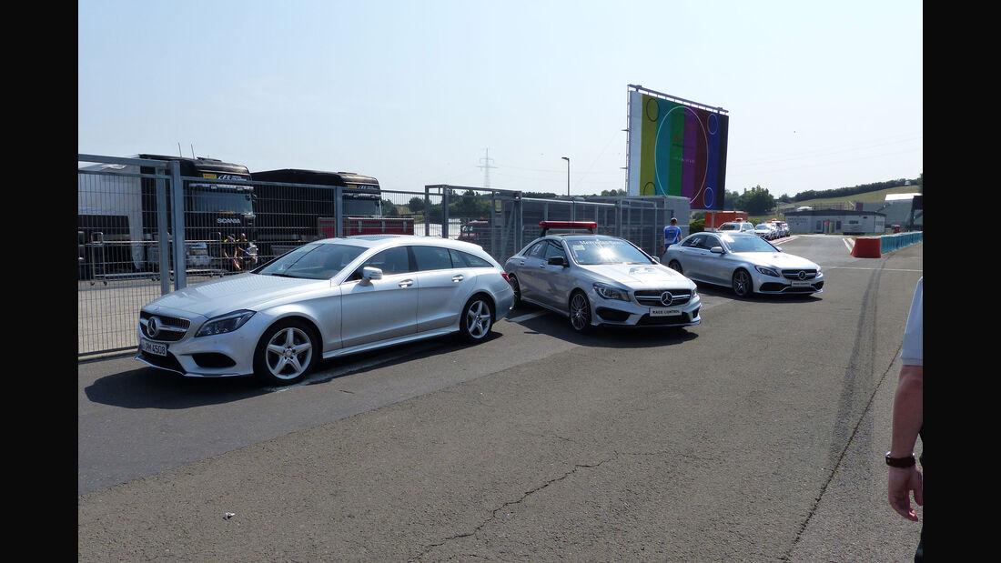 Mercedes - GP Ungarn - Budapest - Donnerstag - 23.7.2015
