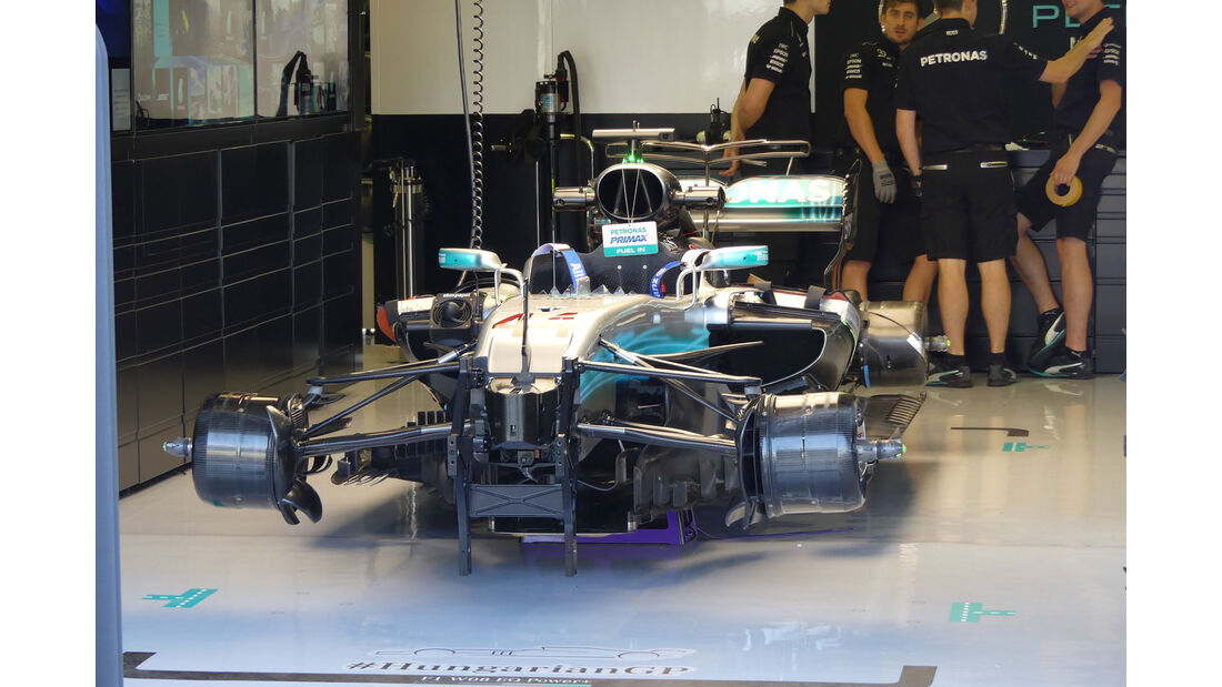 Mercedes - GP Ungarn - Budapest - Formel 1 - 28.7.2017