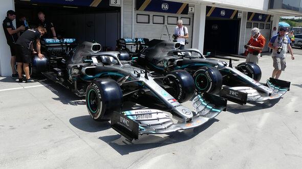 Mercedes - GP Ungarn - Budapest - Formel 1 - Donnerstag - 1.08.2019