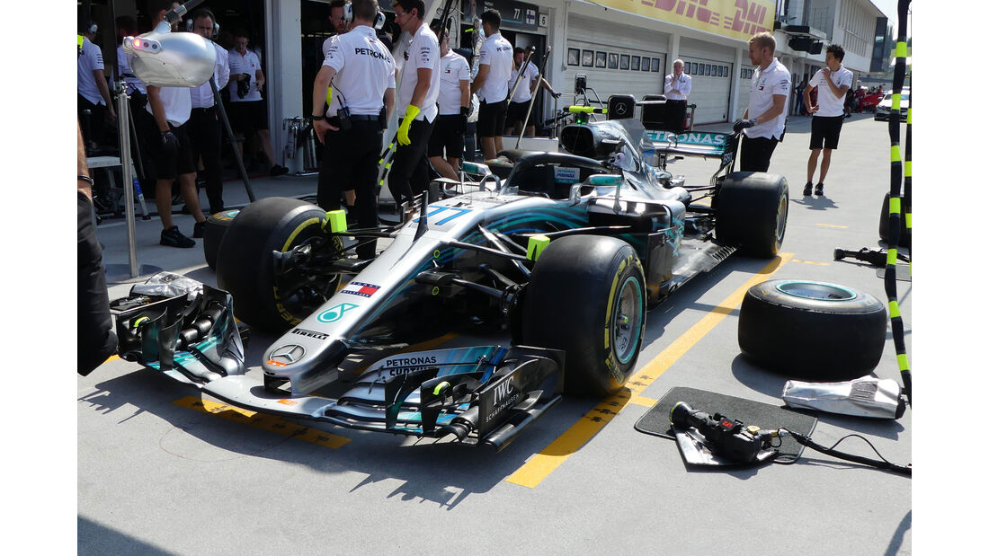 Mercedes - GP Ungarn - Budapest - Formel 1 - Freitag - 27.7.2018