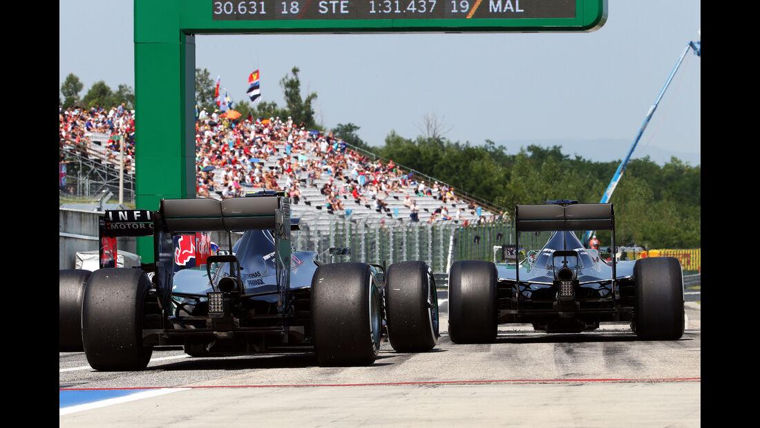 Mercedes - GP Ungarn - Budapest - Freitag - 24.7.2015