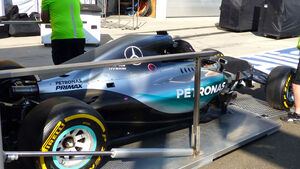 Mercedes - GP Ungarn - Budapest - Mittwoch - 22.7.2015