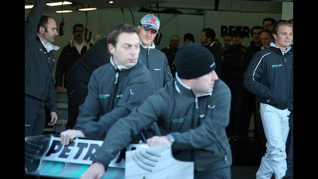 Mercedes GP W01