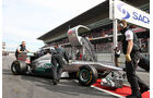 Mercedes GP W02 Rosberg Formel 1 Test Barcelona 2011
