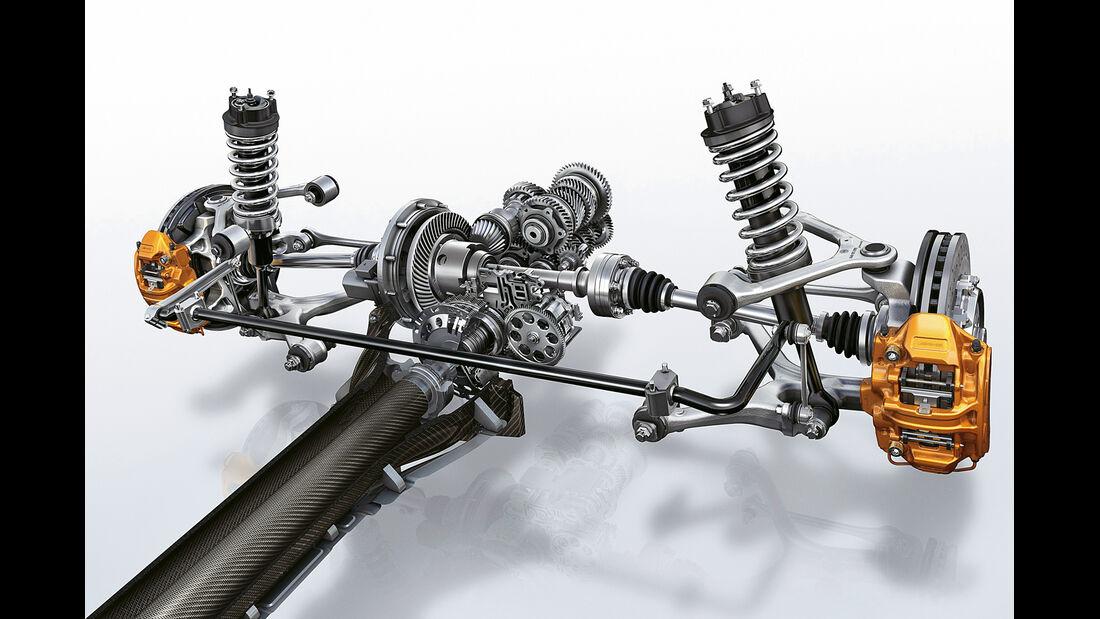 Mercedes GT AMG, Doppelkupplungsgetriebe