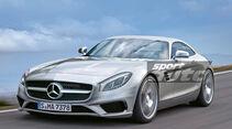 Mercedes GT AMG, Frontansicht