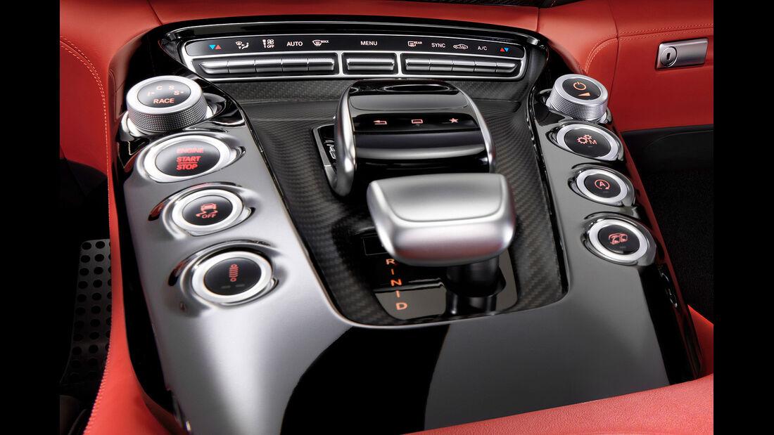 Mercedes GT AMG Innenraum