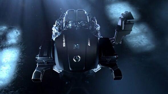 Mercedes GT AMG Motor
