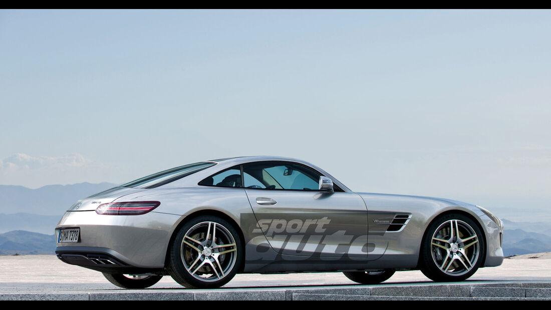 Mercedes GT AMG, Seitenansicht
