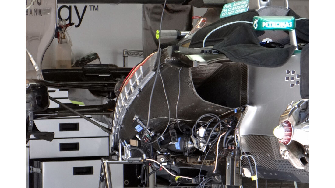 Mercedes Heck - Formel 1 - GP Monaco - 22. Mai 2013