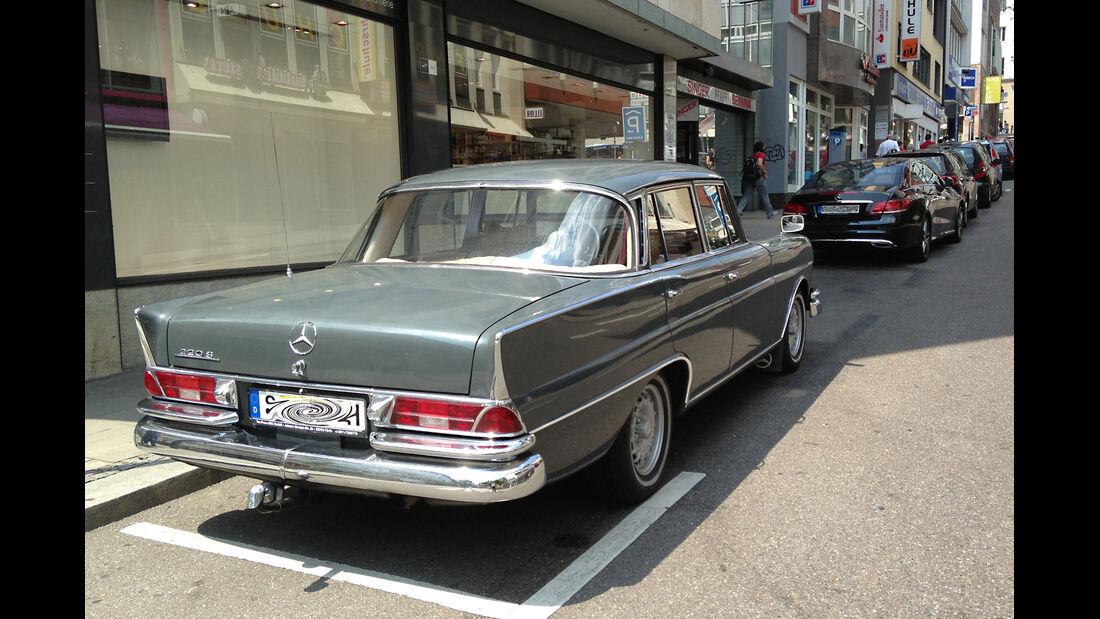 Mercedes Heckflosse & E-Klasse Coupé