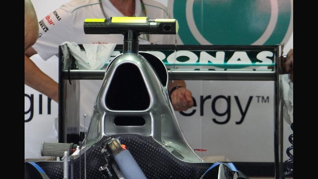 Mercedes Heckflügel - Formel 1 - GP Italien - 7. September 2012