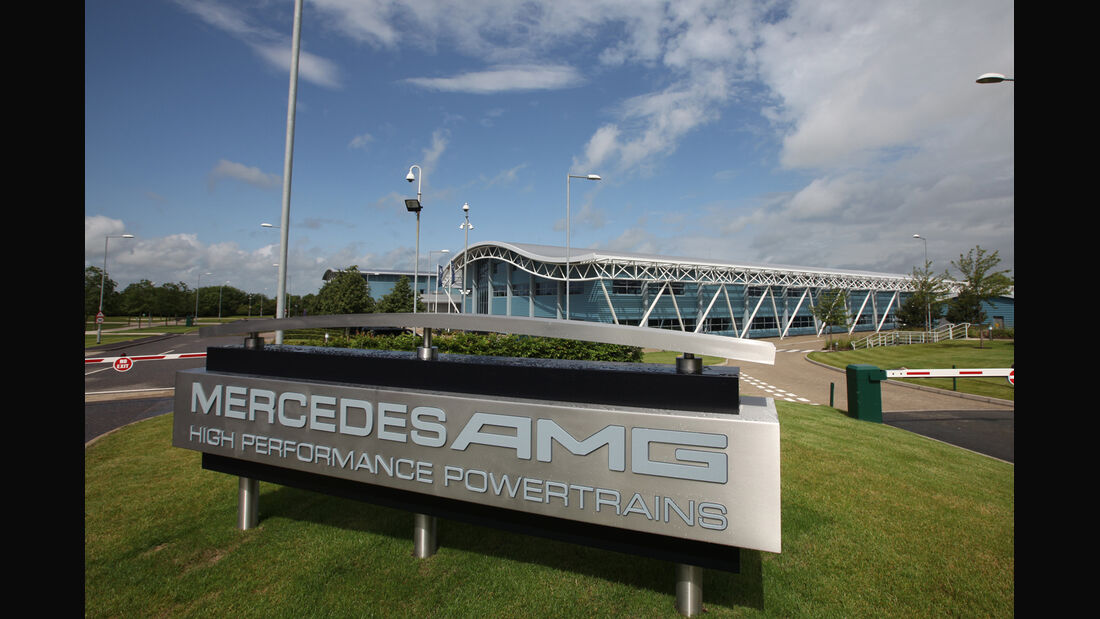 Mercedes High Performance Powertrains HPP Brixworth