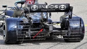 Mercedes - Hinterradaufhängung - F1-Test - Bahrain - 2021