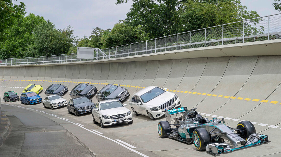 Mercedes Hybrid-Autos 2014