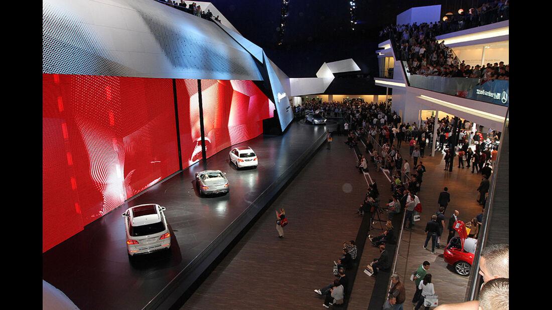 Mercedes IAA 2011 Atmosphäre