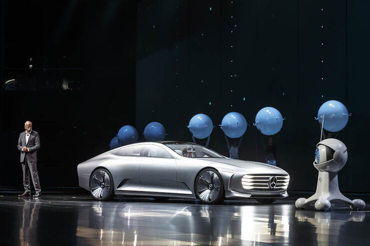 Mercedes IAA-Abend