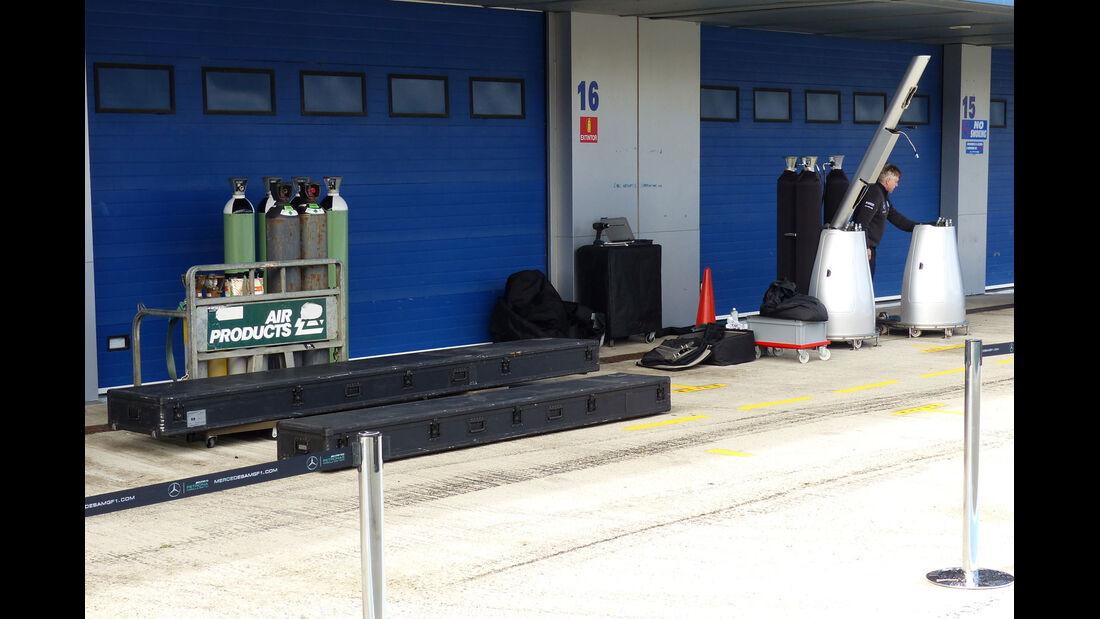 Mercedes - Impressionen - Jerez - Formel 1-Test - 31. Januar 2015