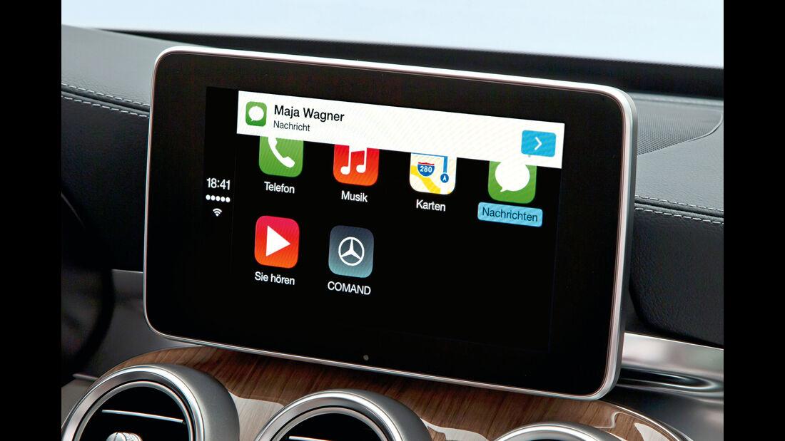 Mercedes, Infotainment, Display