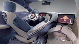 Mercedes, Innenraum