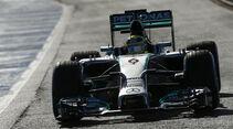 Mercedes - Jerez-Test 2014