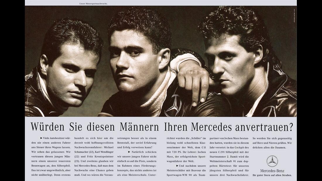 Mercedes Junior Team - 90er Jahre