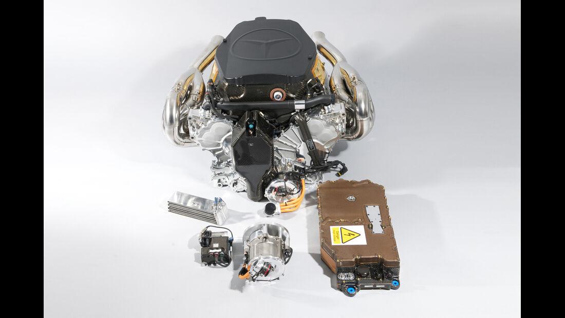 Mercedes KERS 2. Generation 2011