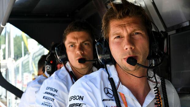 Mercedes-Kommandostand - Formel 1 - 2019