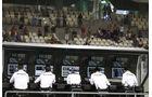 Mercedes - Kommandostand - GP Abu Dhabi 2016 - Formel 1