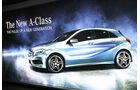 Mercedes Konzernabend Auto-Salon Genf 2012 Premiere A-Klasse Atmosphäre