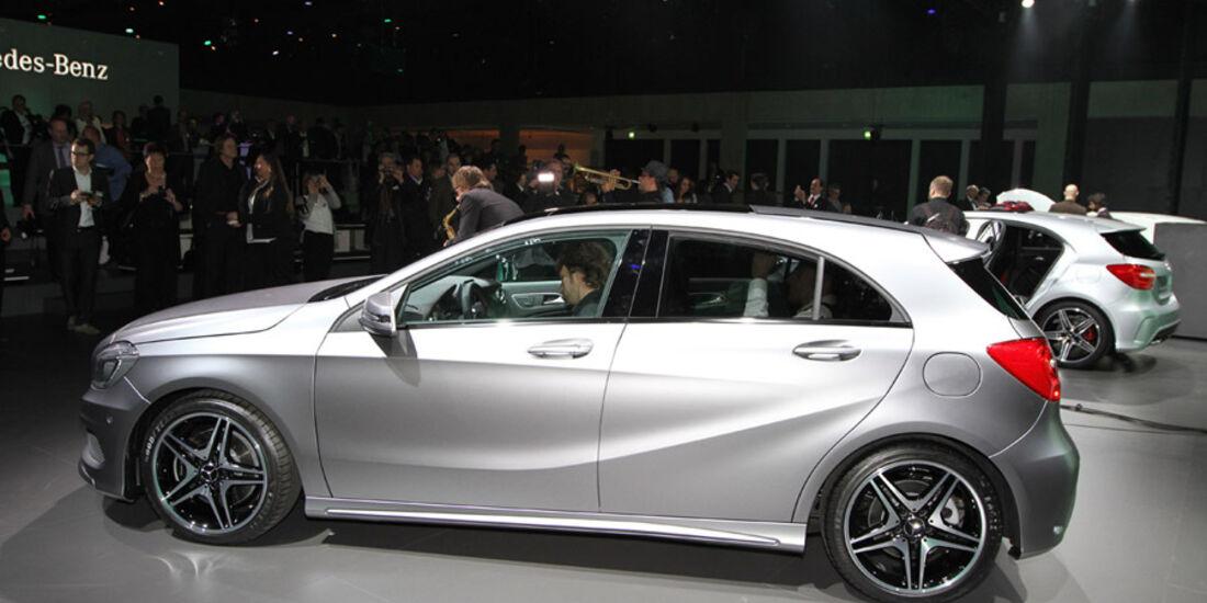 Mercedes Konzernabend Auto-Salon Genf 2012 Premiere A-Klasse