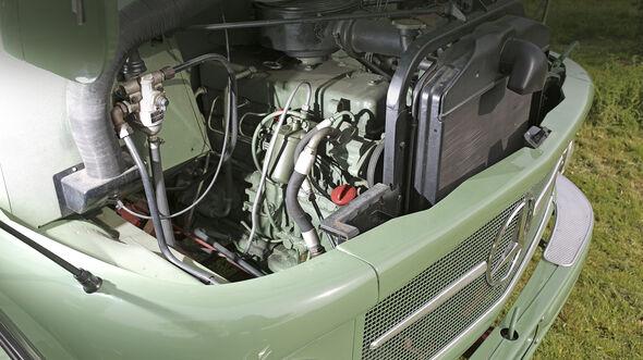 Mercedes Kurzhauber L 1113, Motor