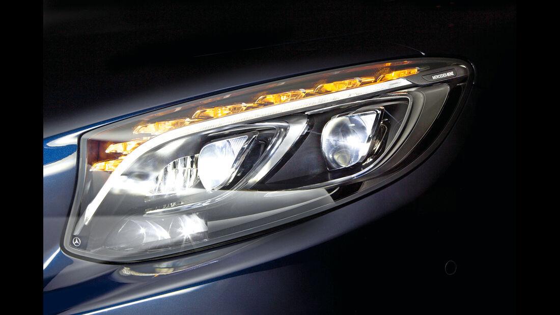Mercedes, LED-Licht