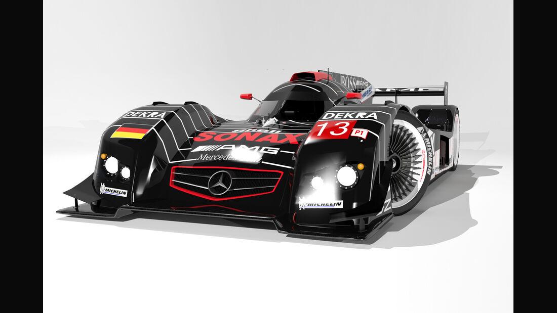 Mercedes LMP1 Concept - Oriol Folch Garcia