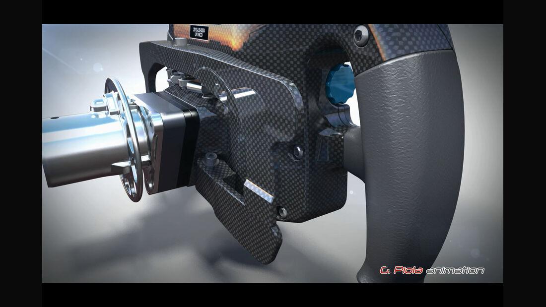 Mercedes Lenkrad 2014 - Nico Rosberg - Piola F1