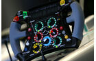 Mercedes-Lenkrad - GP Singapur - 24. September 2011