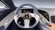 Mercedes, Lenkrad