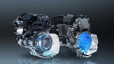 Mercedes M 254 und OM 654 M mit ISG