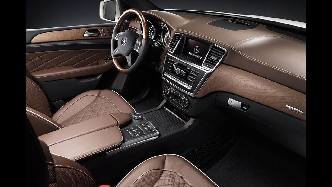 Mercedes M-Klasse, Cockpit