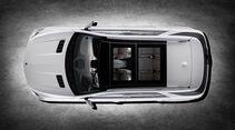 Mercedes M-Klasse, Dach, Vogelperspektive