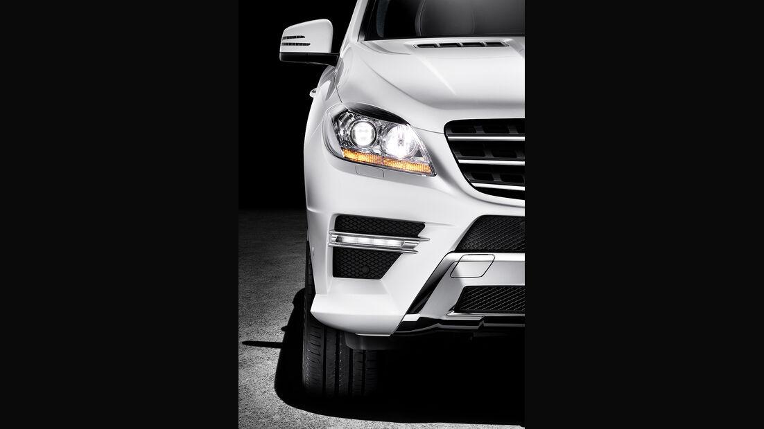 Mercedes M-Klasse, Frontleuchte