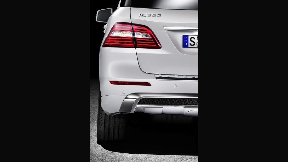Mercedes M-Klasse, Heckleuchte