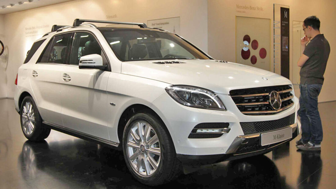Mercedes, M-Klasse, IAA 2011