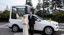 Mercedes M-Klasse Papst Benedict