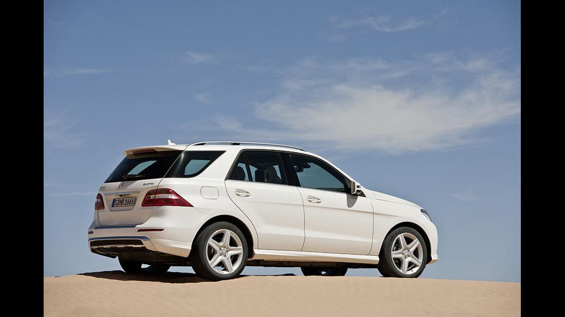 Mercedes M-Klasse, Seite