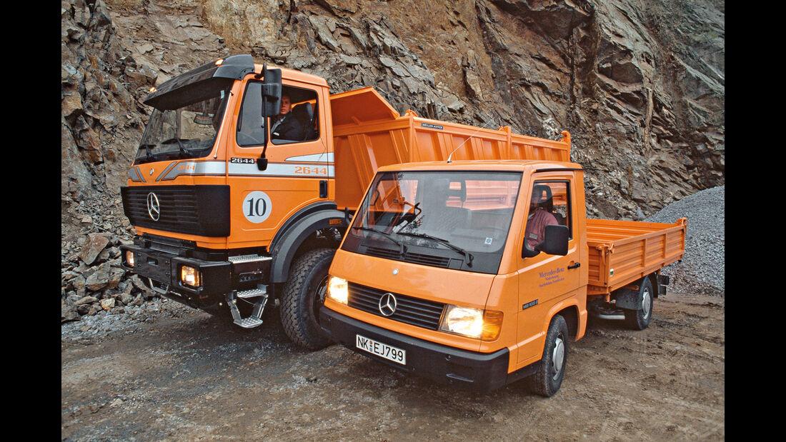 Mercedes MB 100, Aufbau, Pritschenwagen