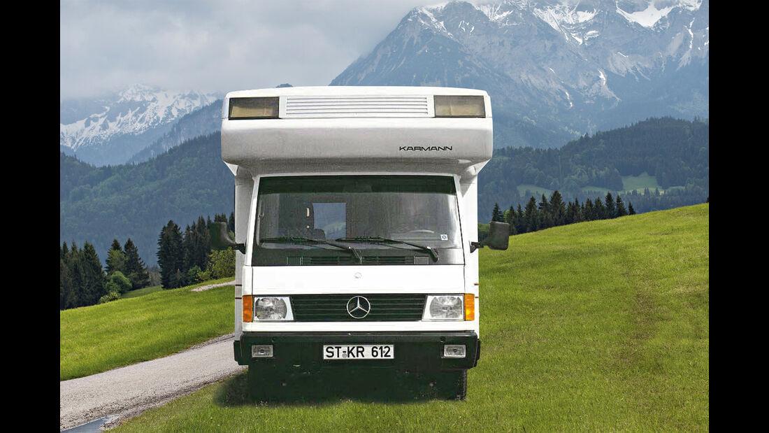 Mercedes MB 100, Wohnmobil